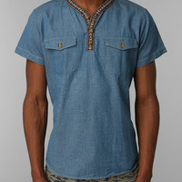 OBEY Far Out Henley Shirt