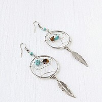 Feather Catcher Earring at Free People Clothing Boutique