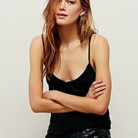 Free People Womens Off The Clock Cami