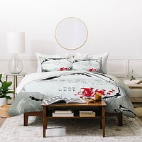 Deb Haugen Love 2 Duvet Cover