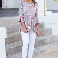 Fell For You Top, Mauve