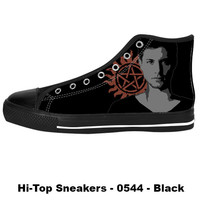Awesome Custom Dean Winchester Shoes Design - Supernatural Sneakers