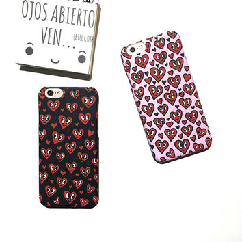 On Sale Cute Hot Deal Iphone 6/6s Stylish Apple Couple Phone Case [8153018311]