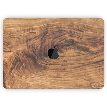 """Raw Wood Planks V11 - Skin Decal Wrap Kit Compatible with the Apple MacBook Pro, Pro with Touch Bar or Air (11"""", 12"""", 13"""", 15"""" & 16"""" - All Versions Available)"""