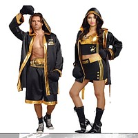Women  And Men Boxer Costumes