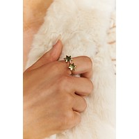 Watch Her Go Statement Ring (Gold)