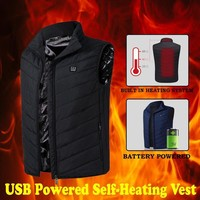 Electric Heated Winter Vest