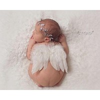 2017 Born Cute Photography Wings Angle Props Accessoire Photographie Props Baby Born Photography Costume New