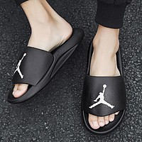 Nike new style slippers fashion men's and women's beach sandals shoes
