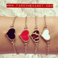 Heart Chain Arm Candy from Fancy Me Candy