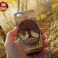 Tree of Life Case, Wood for Iphone 4, 4s, Iphone 5 case, 5s, Iphone 5c case, Samsung Galaxy S3 case, S4, S5, Samsung Galaxy Note 2, Note 3.