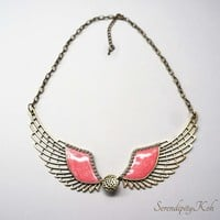 ANGELS WING NECKLACE