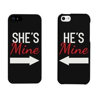 She's Mine, He's Mine Matching Phone Cases for iphone 4, iphone 5, iphone 5C, iphone 6, iphone 6 plus, Galaxy S3, Galaxy S4, Galaxy S5, HTC M8, LG G3