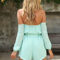 Sweet Chill Playsuit - Mint   SABO SKIRT