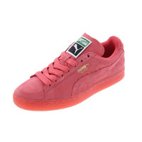 Puma Womens Classic Suede Athletic Casual Shoes