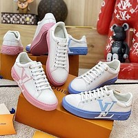 Louis Vuitton LV Low-Top Women's Sneakers Shoes