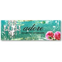 GC   Adore   Vintage Turquoise Business Card Templates from Zazzle.com