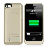 Charger Case for iPhone 5 5S 5C SE