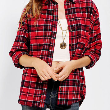 Urban Outfitters - BDG Double-Pocket Flannel Shirt