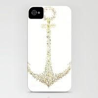Flower Anchor iPhone Case by Charmaine Olivia   Society6