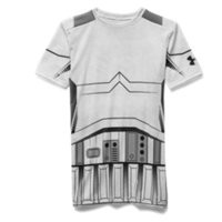Under Armour Boys' Star Wars Storm Trooper UA Compression Shirt