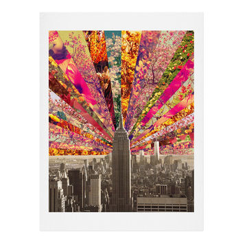 Bianca Green Blooming NY Art Print