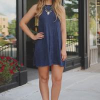 Made to Move Dress - Navy