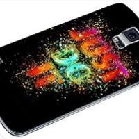 Just do it NIKE Colorful 01 Samsung Galaxy S4 S5 S6 Case (samsung s5 white)