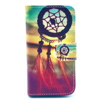 Creative Painting Leather Wallet Case Cover