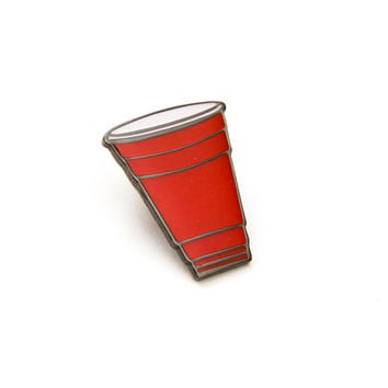 Red Cup Pin