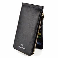 26 Card Holder Phone Bag Coin Female Purse Long Leather Wallet For Women Clutch Handy Wristlet Slim Ladies Wallets Girls Vallet
