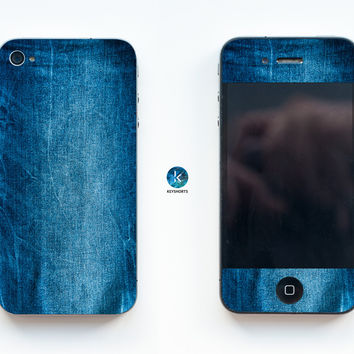 Jeans Story iPhone Skin
