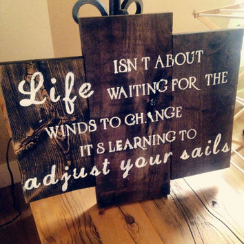 Custom Wood Sign, Rustic Sign, Quote on Wood, Home Decor, Rustic Decor, Trending Gift Ideas, Dark Stained