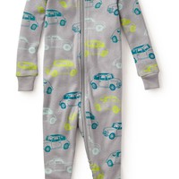 Tea Collection 'Automobili' Fitted One-Piece Pajamas (Baby Boys) | Nordstrom
