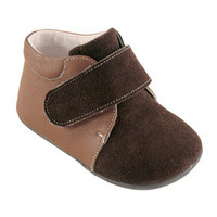 Hudson Baby Boy's Leather and Suede Boots | Affordable Infant Clothing