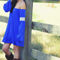 Judith March: Blue You Away Dress: Royal Blue | Hope's