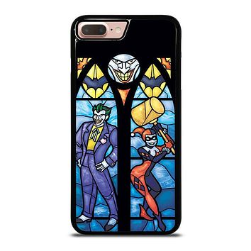 JOKER AND HARLEY QUINN ART iPhone 8 Plus Case Cover
