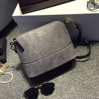 Shell Small Handbags New 2016 Fashion Gray brand Ladies Party Purse Famous Designer Crossbody Shoulder bag Women Messenger bags