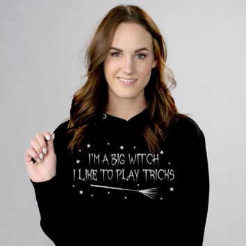 Big Witch With Tricks Hoodie