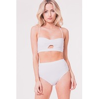 Cut Out For This White Bralette  -FINAL SALE
