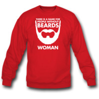 people without beards sweatshirt