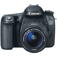 CANON 8469B002 20.2-Megapixel EOS 70D Digital SLR Camera (Body Only)