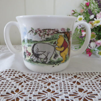 Winnie the Pooh  vintage christening mug by Royal Doulton, gift for a child