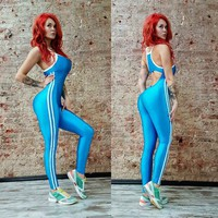 Breathable Gym Sports Running Jumpsuits