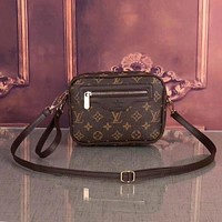 Louis Vuitton Women Fashion Leather Handbag Crossbody Shoulder Bag