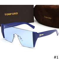 TOM FORD 2018 new men's personality fashion frameless sunglasses F-ZXJ #1