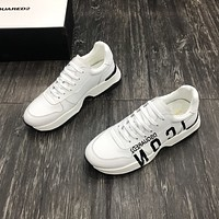 DSQUARED2  Woman's Men's 2020 New Fashion Casual Shoes Sneaker Sport Running Shoes