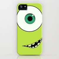 Mike Wazowski, Monsters Inc. iPhone & iPod Case by Gabsnisen