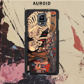 The Witch And The Skeleton Spectre Samsung Galaxy Note 4 Case Auroid