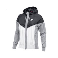 Nike Women's NSW Windrunner Jacket White Black